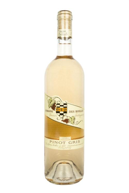 Pinot gris - Biolles - vin - Founex