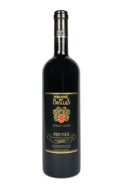 Pinot noir - Biolles - vin - Founex