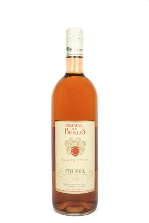 rose de gamay - Biolles - vin - Founex