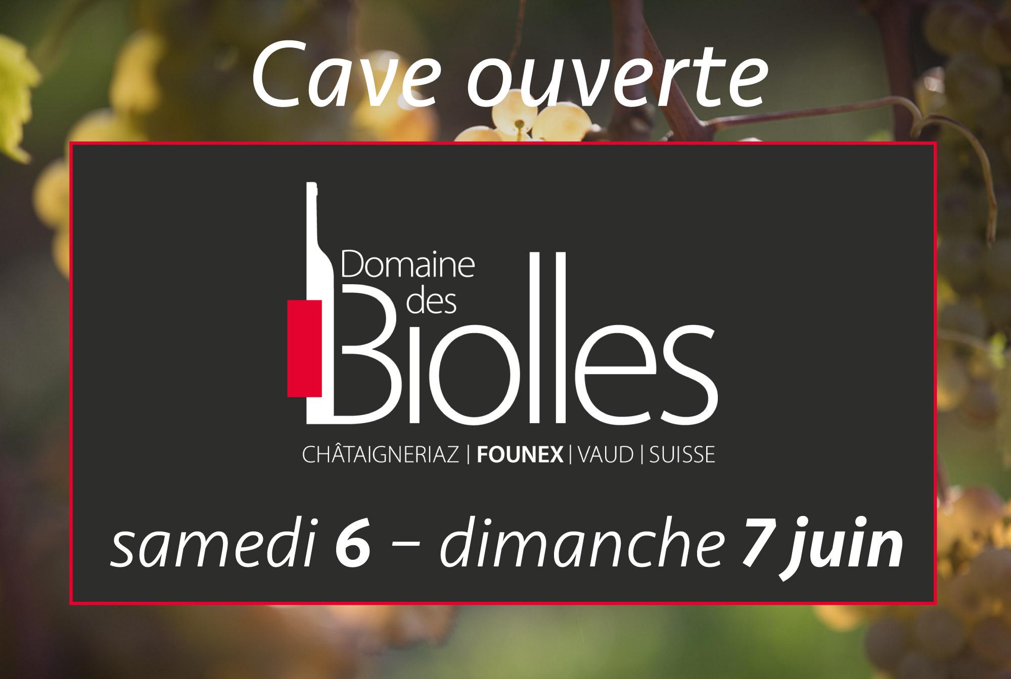 Vin Founex Biolles Cave ouverte